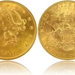$20 Gold Liberty aka Double Eagle (1850 - 1907)